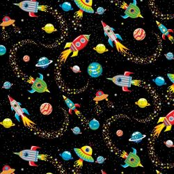 Blast Off into Space by Kate Mawdsley