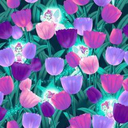 Pixies & Petals (Glow) by Salt Meadow Studios