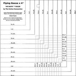 Ruler | Flying Geese