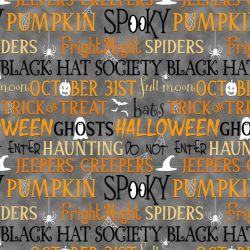 Old Salem's Black Hat Society Glow by Shelly Comiskey