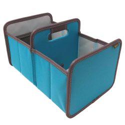 Foldable Box | Double Mini | Azure Blue
