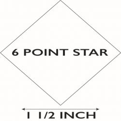 """6 Pointed Star 