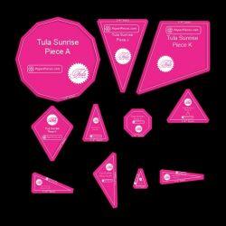 Tula Sunrise | Acrylic Template | ¼ by Tula Pink Hardware