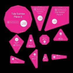 Tula Sunrise | Acrylic Template | 3/8 by Tula Pink Hardware